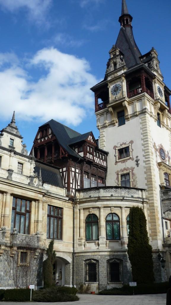 Château de Peles - entrée