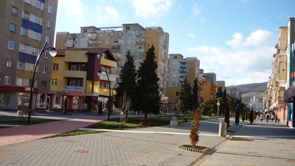 Rue principale d'Alba Iulia
