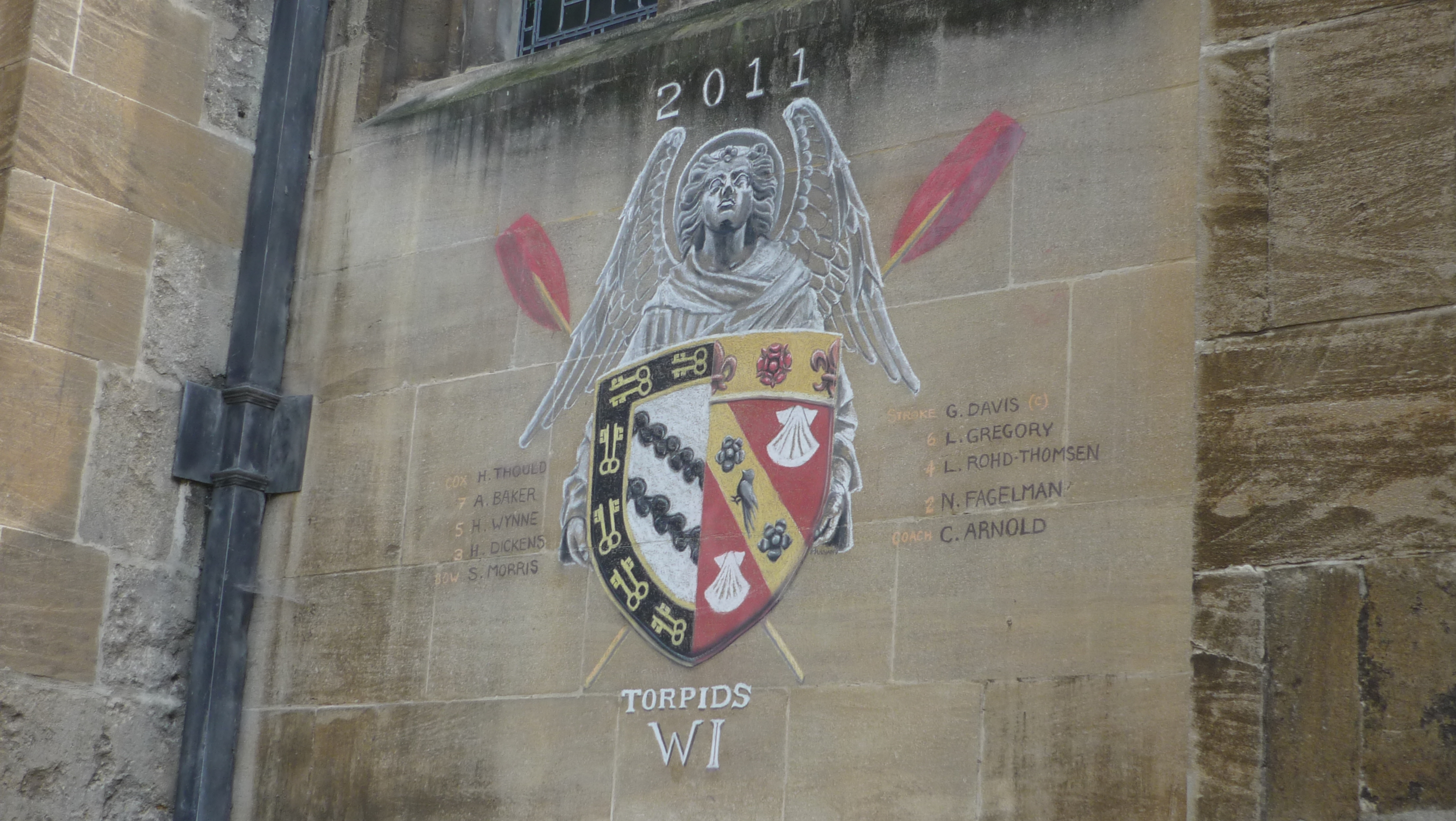 Graffiti Université d'Oxford