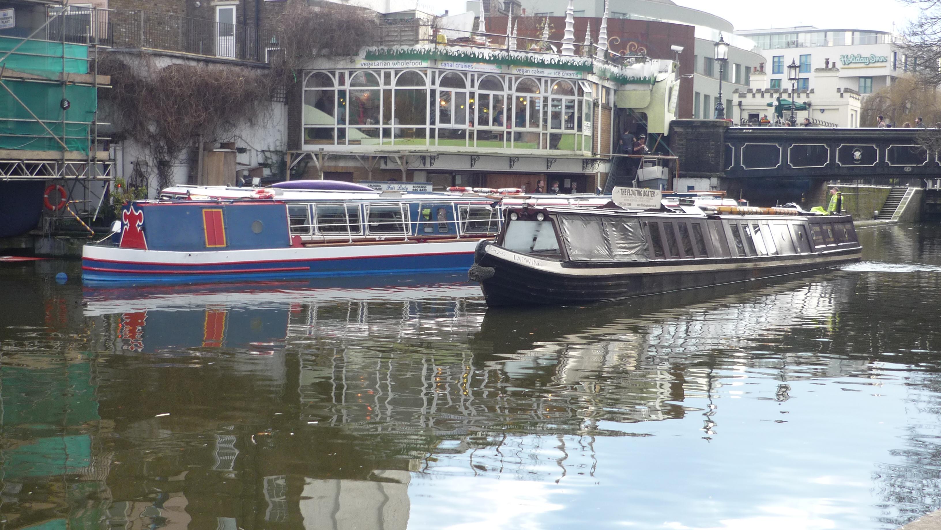 Regent's Canal au niveau de Camden Lock