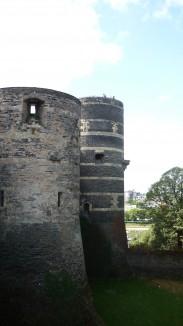 Tourd du château d'Angers