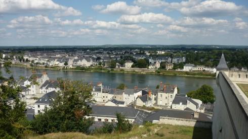 Vue du château de Saumur