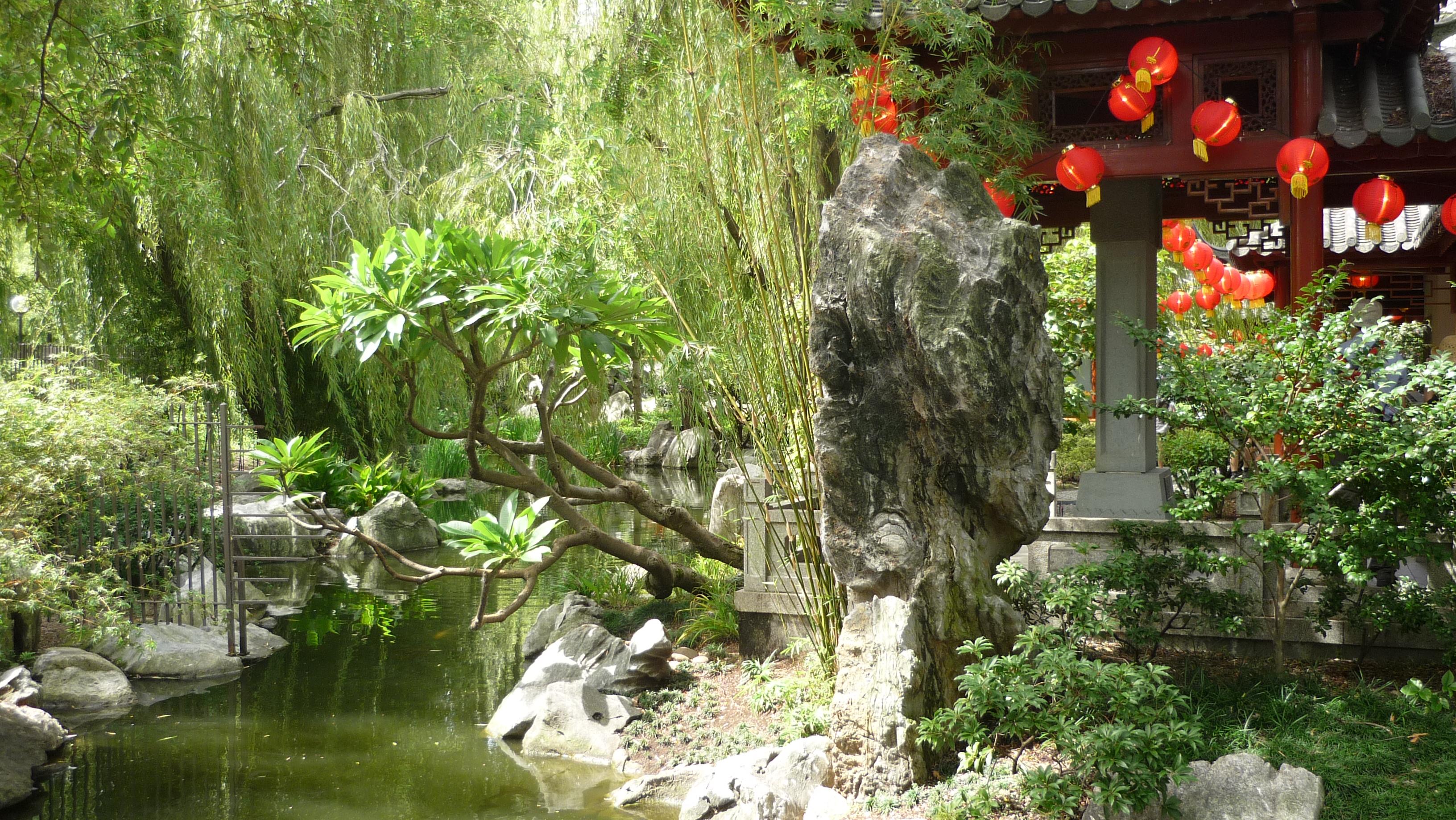D couverte de chinatown et du jardin chinois de sydney for Jardin chinois