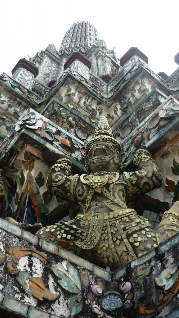 détail temple wat arun bangkok