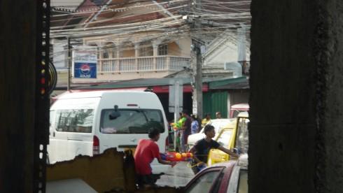 songkran phuket thaïlande