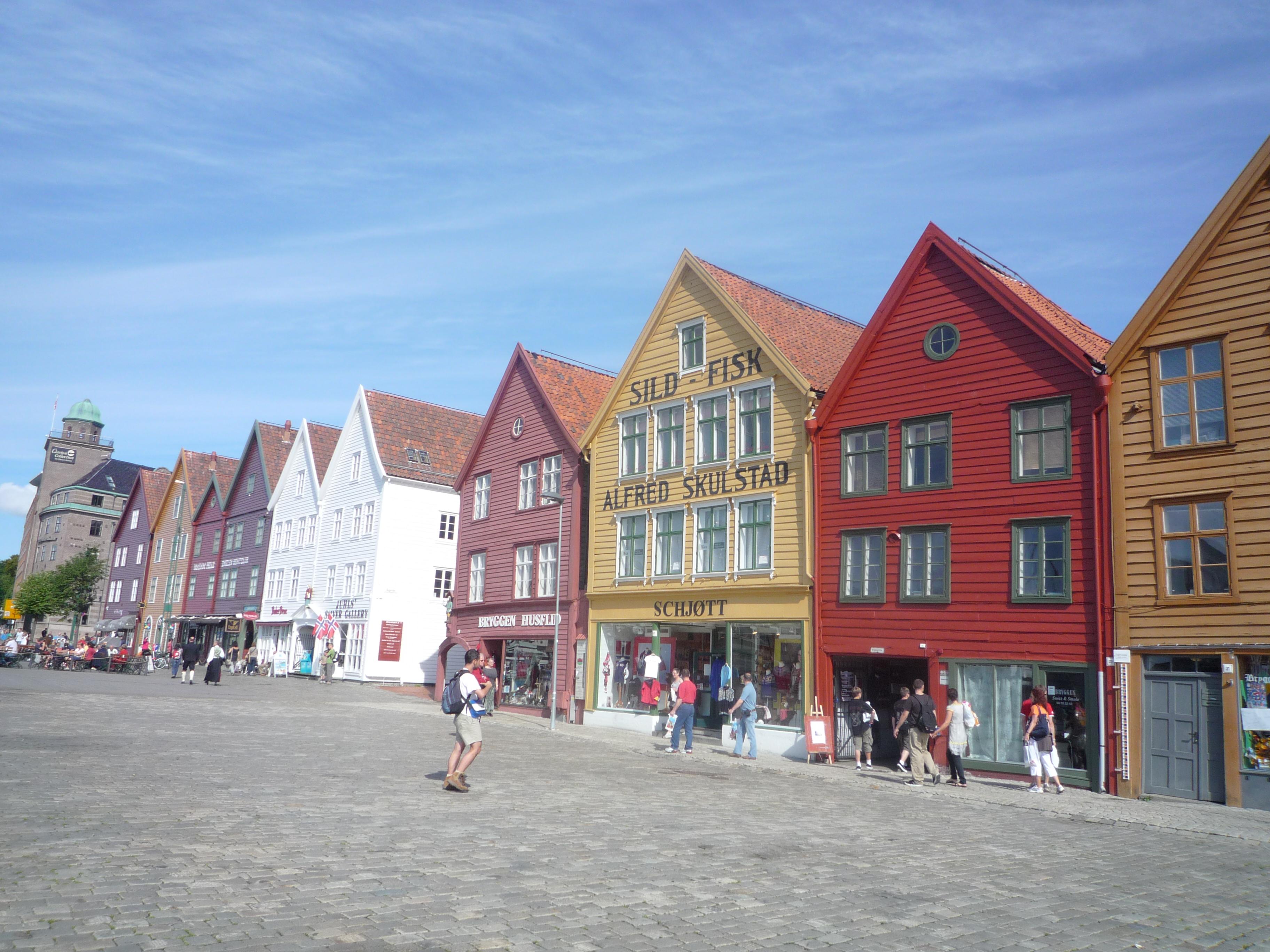Bryggen norvège