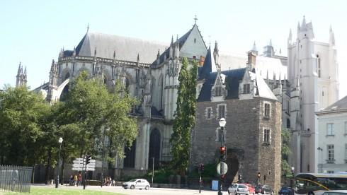 visiter Nantes - la cathédrale gothique