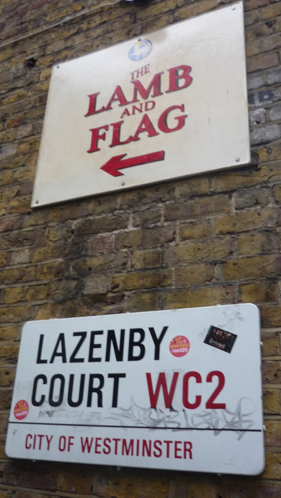 londres insolite - lazenby court