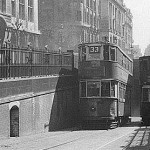 Londres insolite: la station de tramway de Kingsway