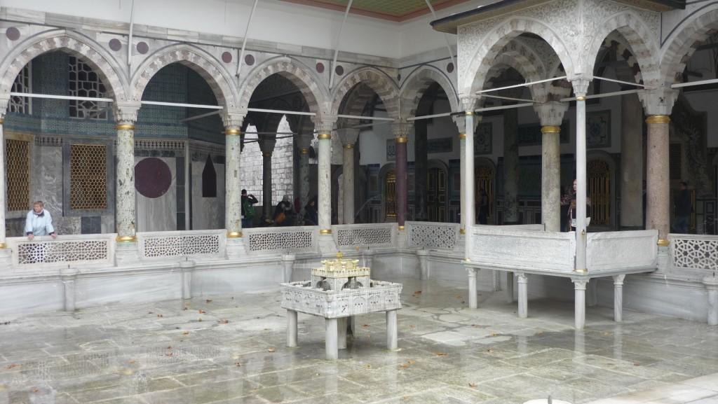 fontaine du palais topkapi