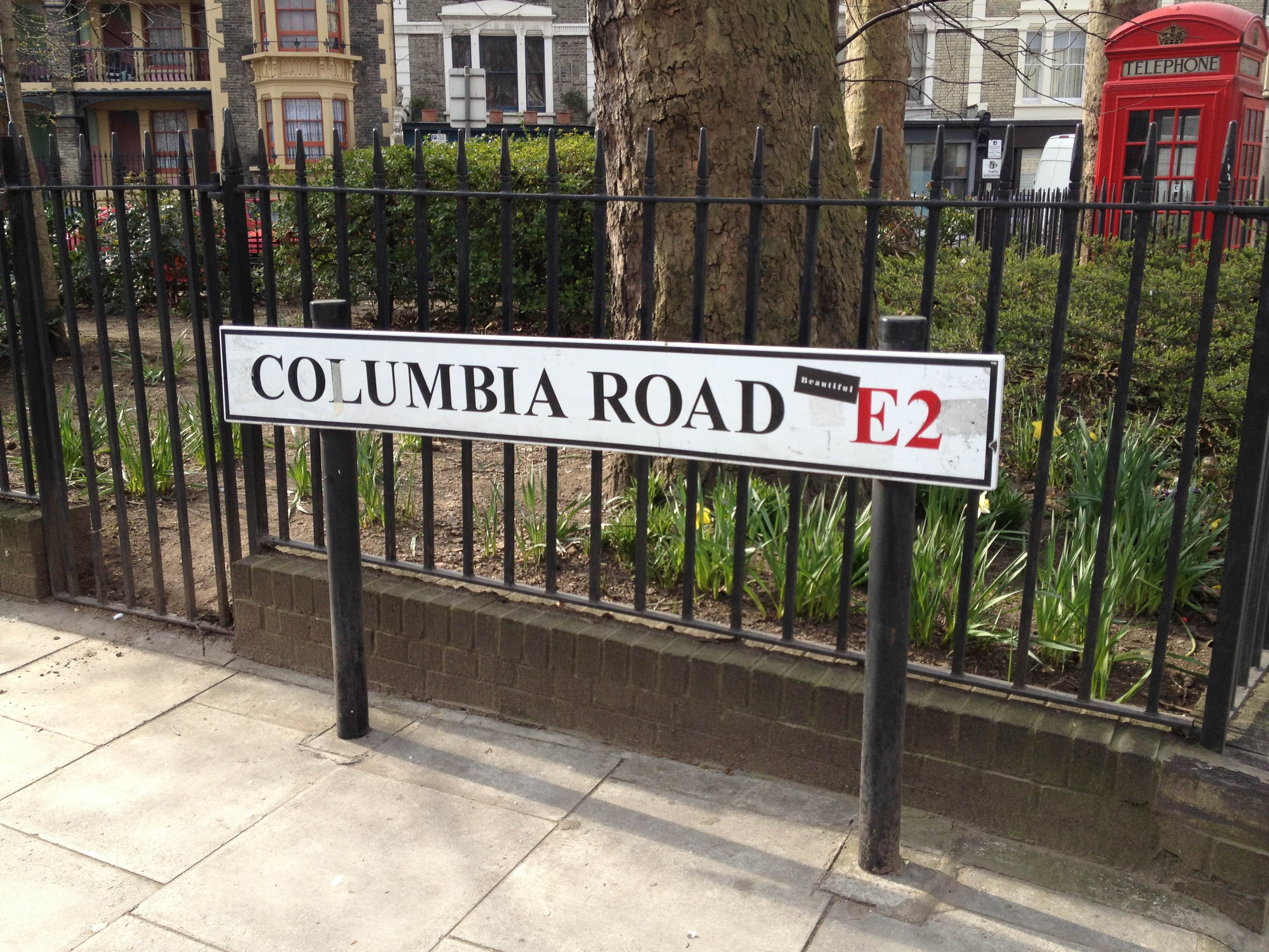 colombia road londres