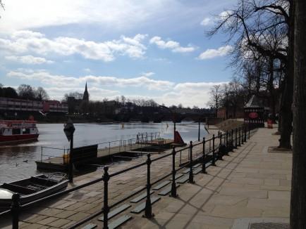 Les rives de Chester