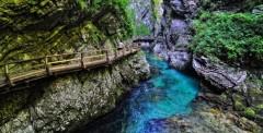 visiter la Gorge de Vintgar