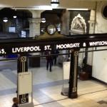 Comme un air d'antan à Baker Street station