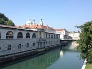 centre-ville de Ljubljana, Slovénie
