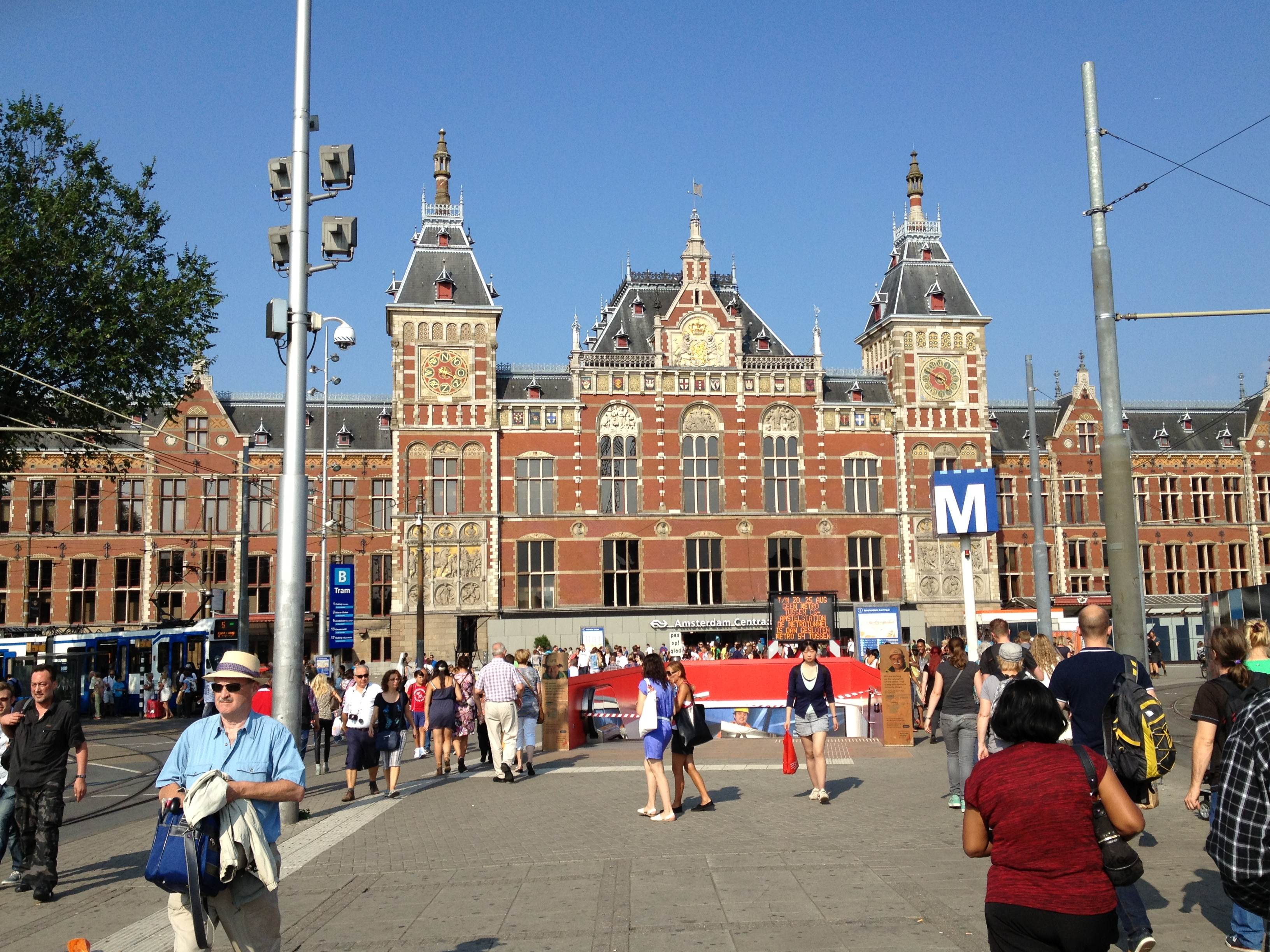 Amsterdam gare centrale america 39 s best lifechangers for Interieur sport gourcuff
