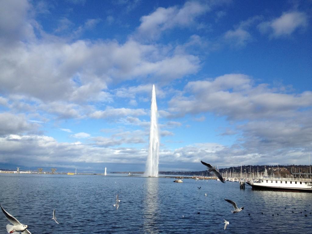 Genève jet d'eau