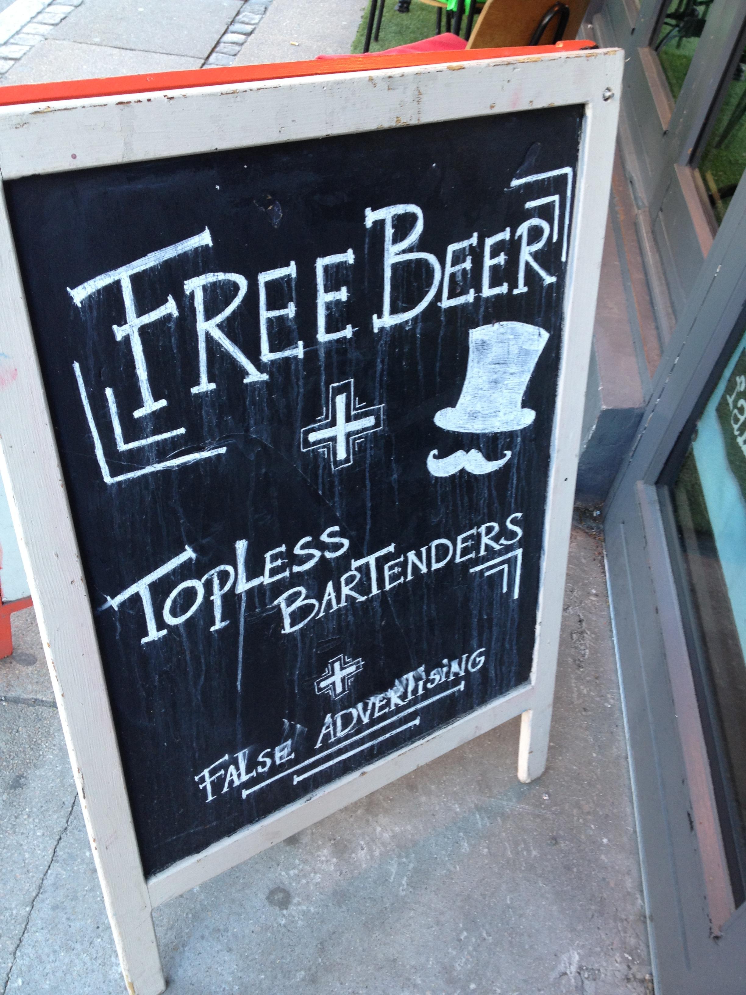 un pub à Copenhague