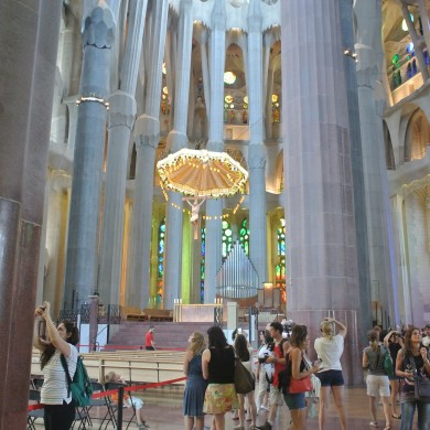 christ sagrada familia