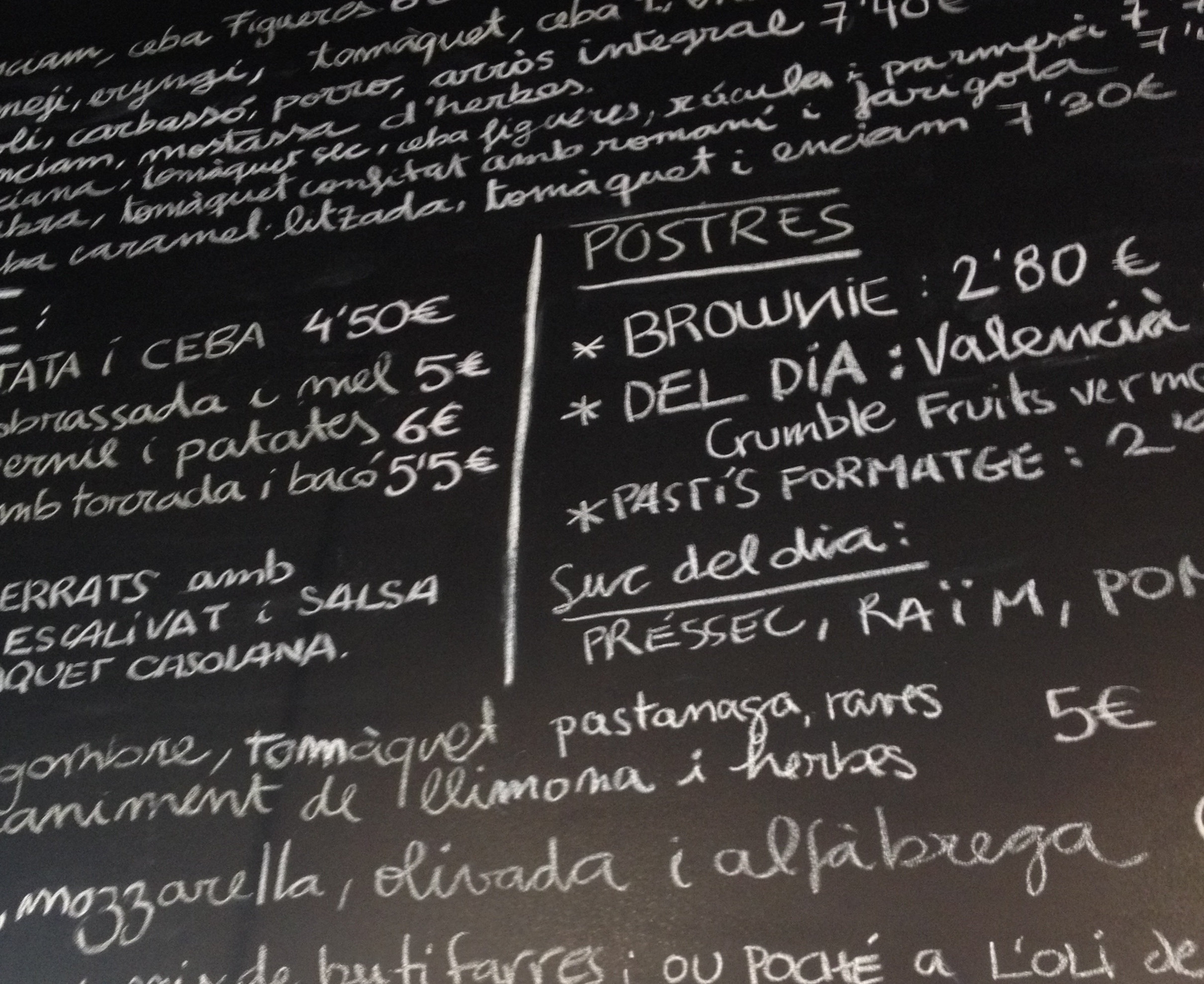 le coq and the burg menu