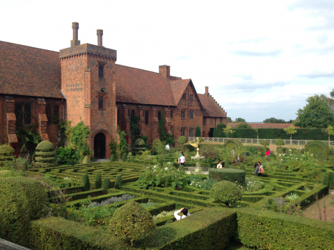 jardins de hatfield house