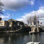 Insolite: St Pancras Lock & Gasholder Park à Londres