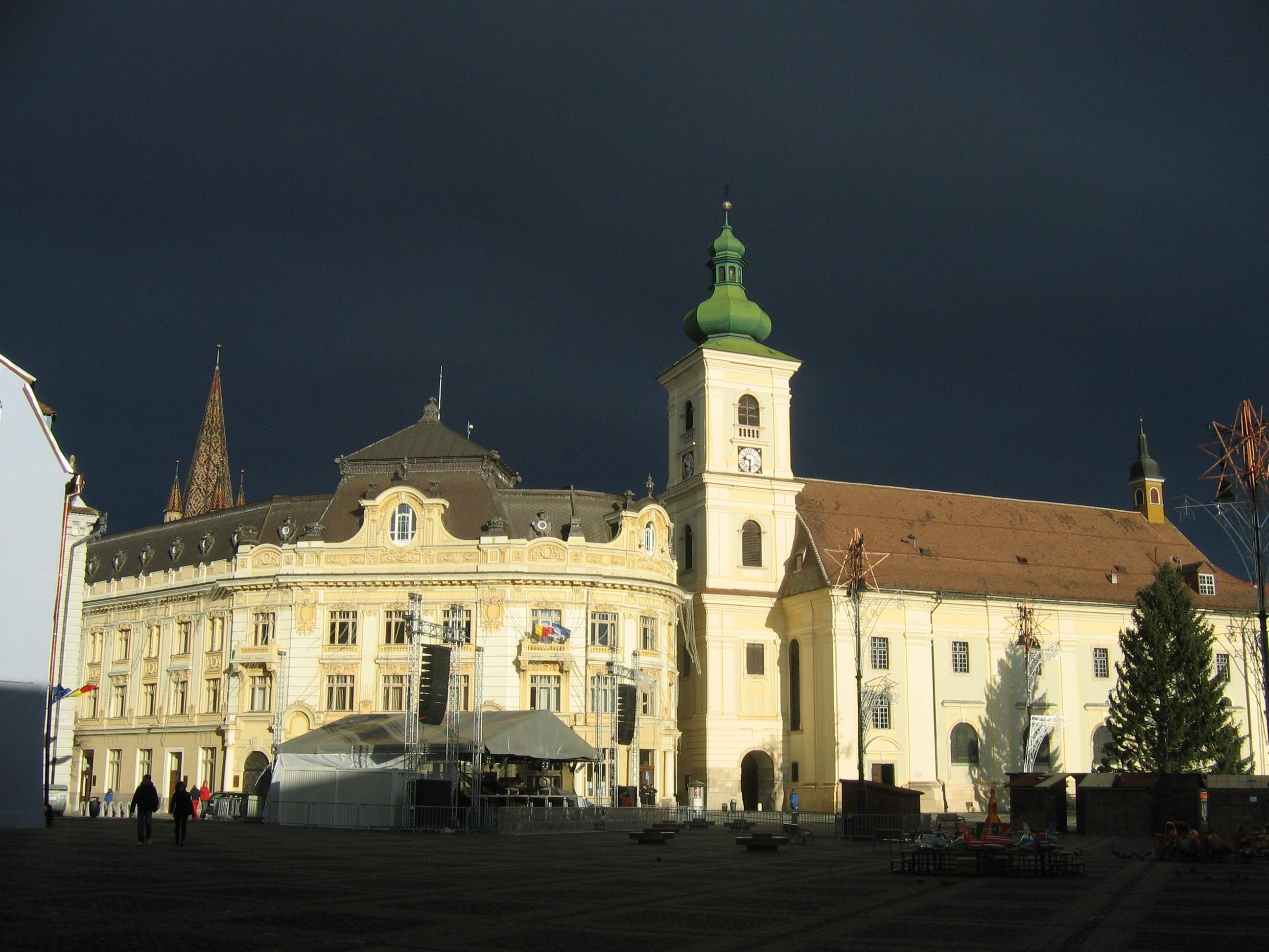 Place centrale de Sibiu