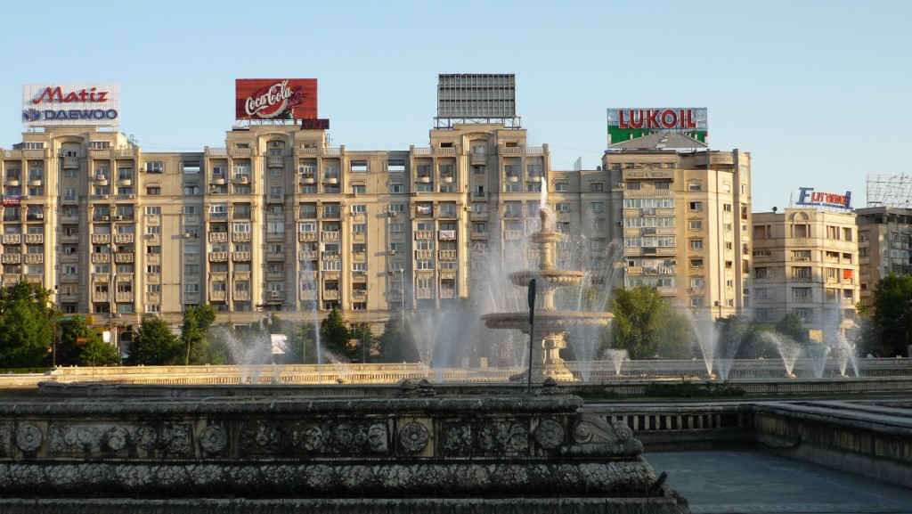 Place centrale de Bucarest, Roumanie
