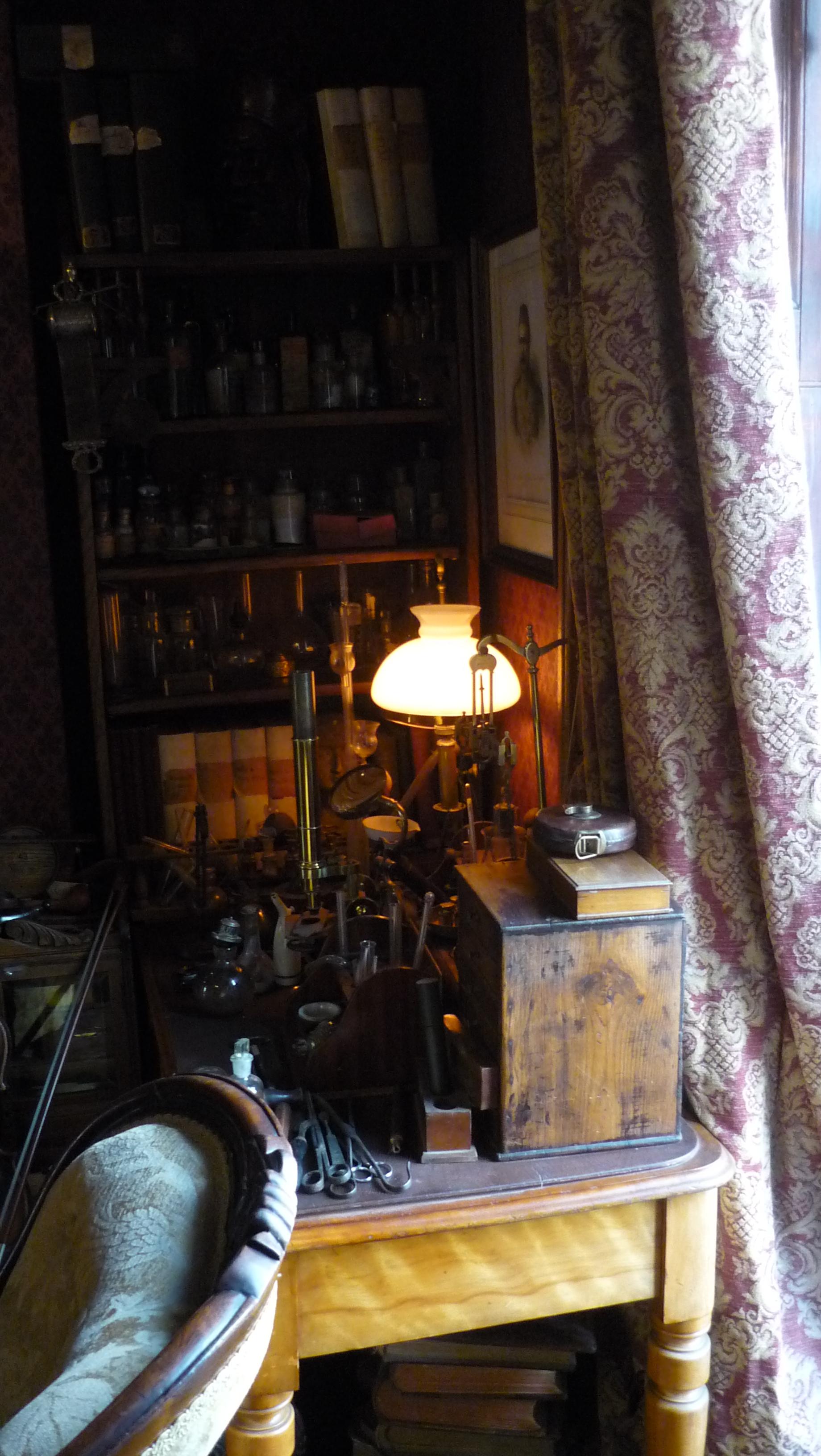 Laboratoire du Dr. Watson