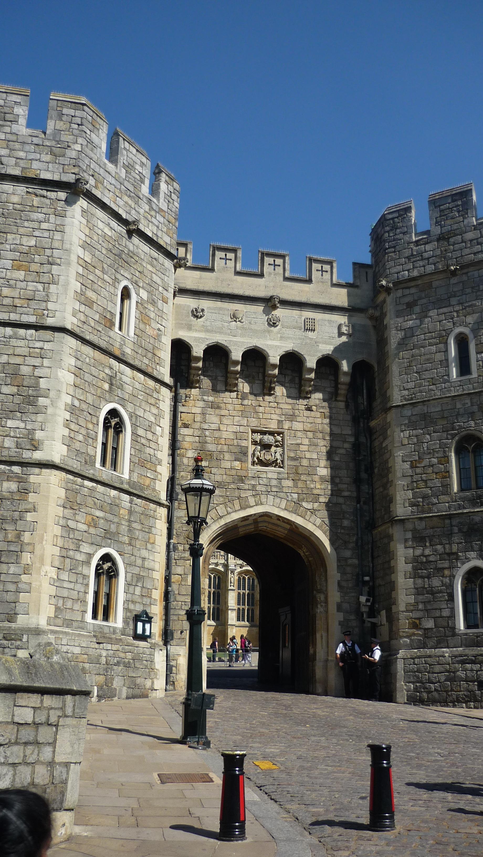 Entrée du Château de Windsor