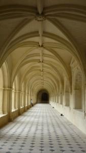 Couloirs de l'abbaye
