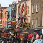 Camden Lock: le marché de Camden Town à Londres.