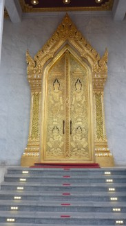 Bouddha d'or - porte
