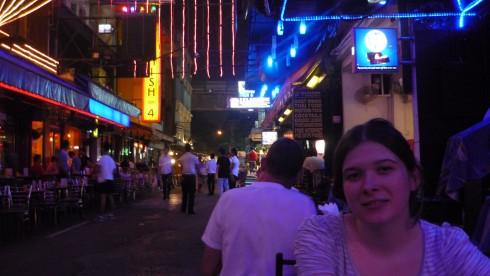 Bangkok Silom Road