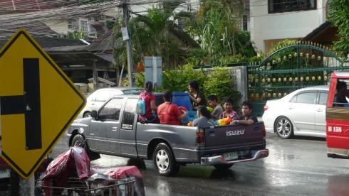 Songkran thailande 2012