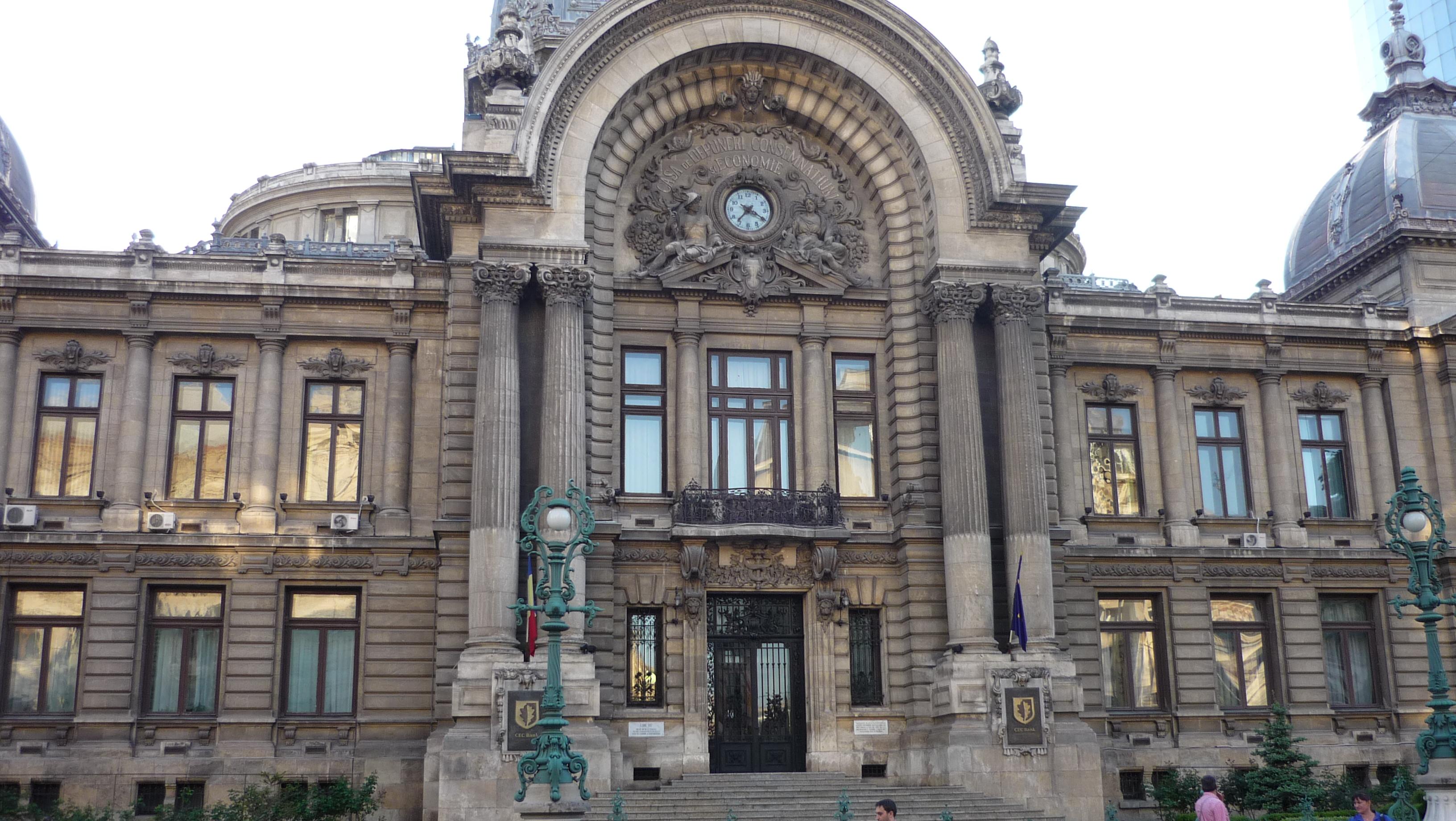 Palais CEC Bucarest