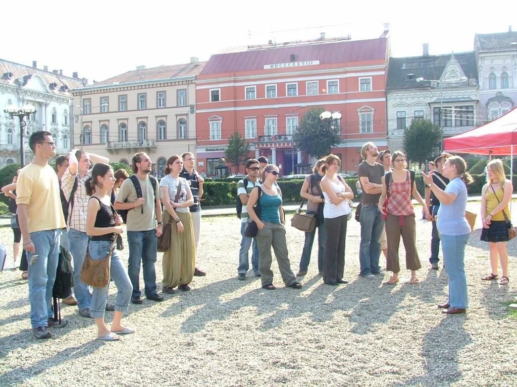 Erasmus Cluj - visite de la ville