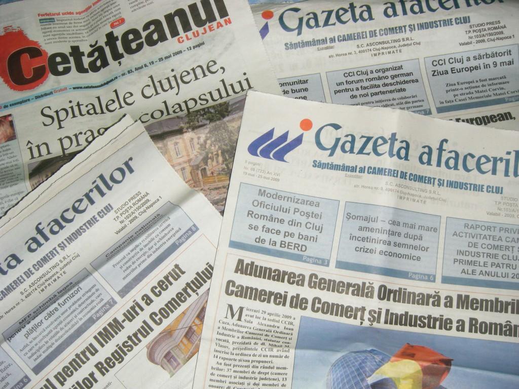 Journaux roumain