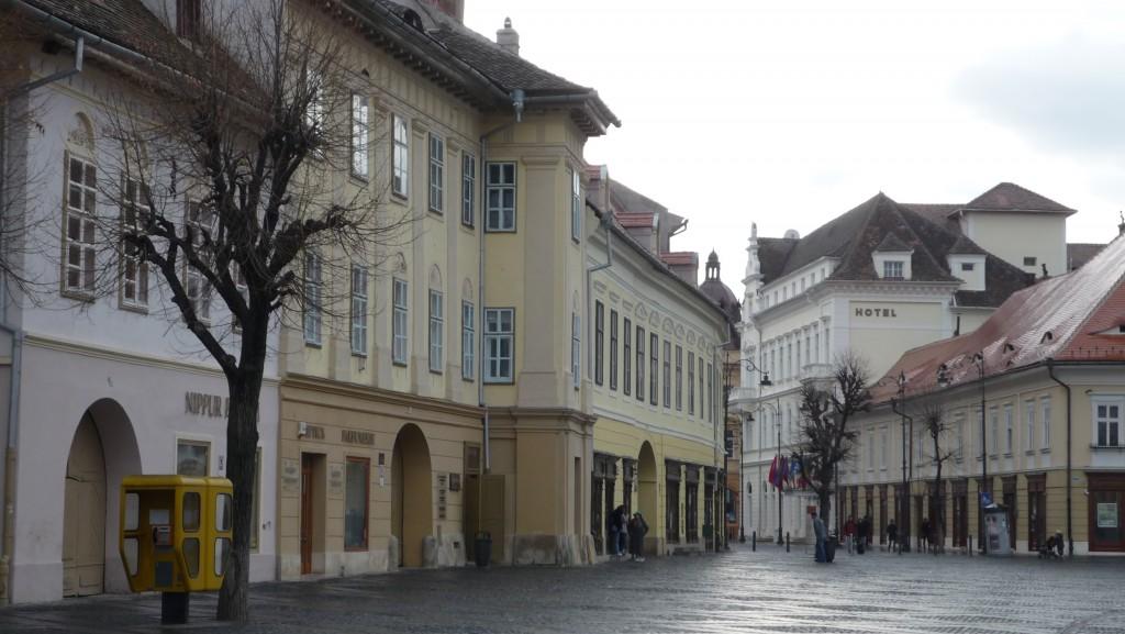 Découverte de la Roumanie, Sibiu