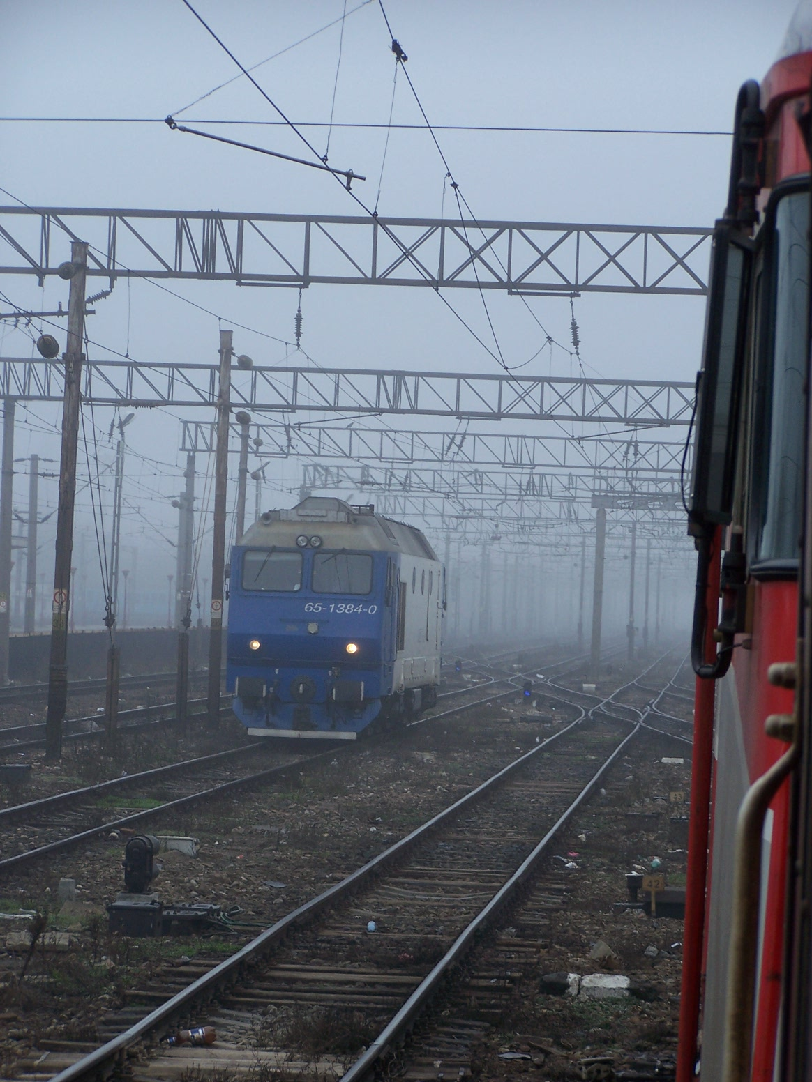 voyager en Roumanie - train