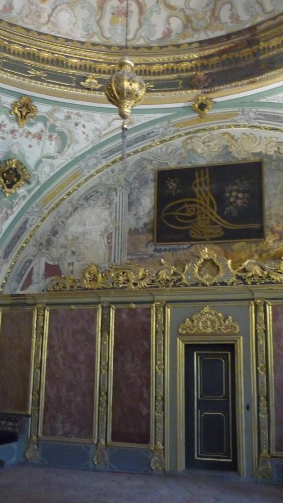 intérieur du palais topkapi