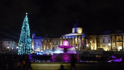 Lumières de Noël à Londres
