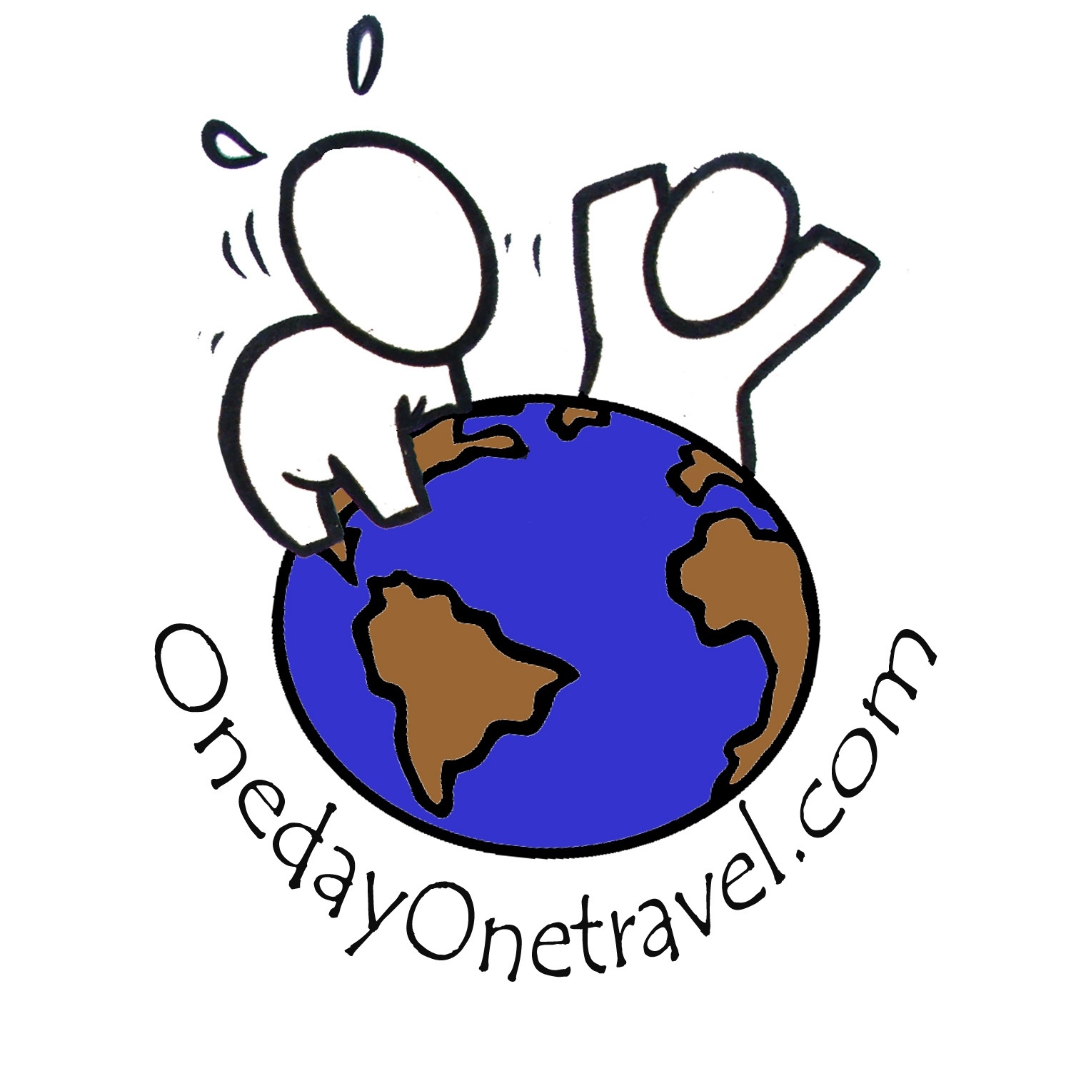 logo one day one travel