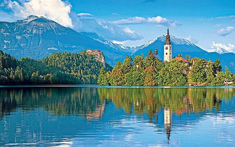 visiter bled slovenie