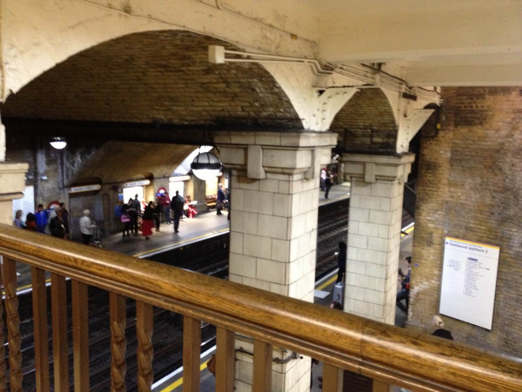Intérieur Baker Street Station