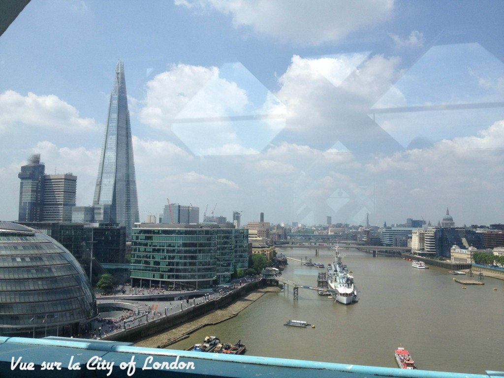 Vue sur la City of London