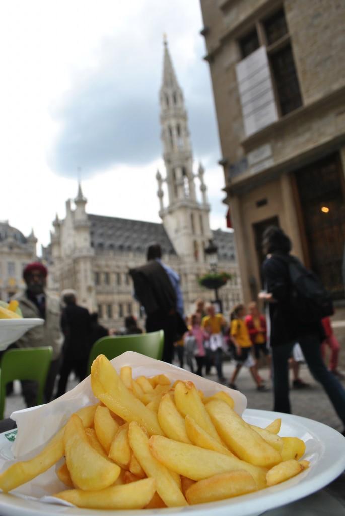 mangers de frites à bruxelles