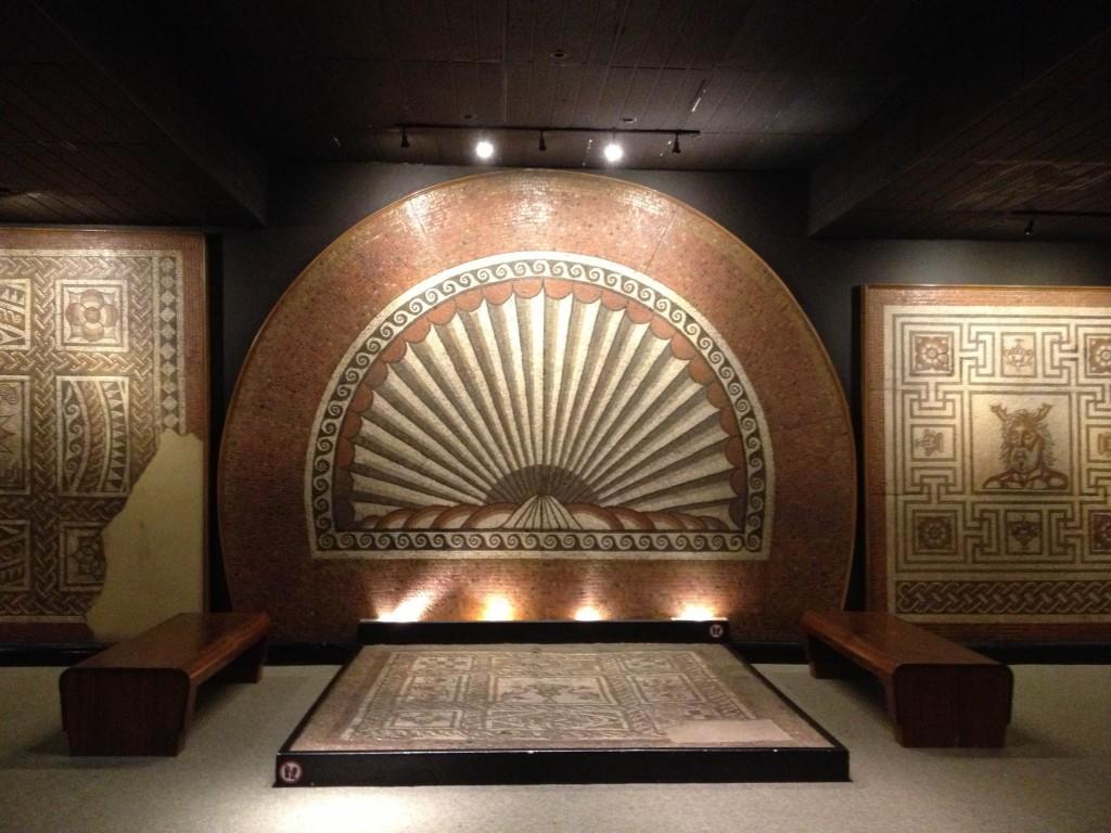 mosaique romaine de st albans