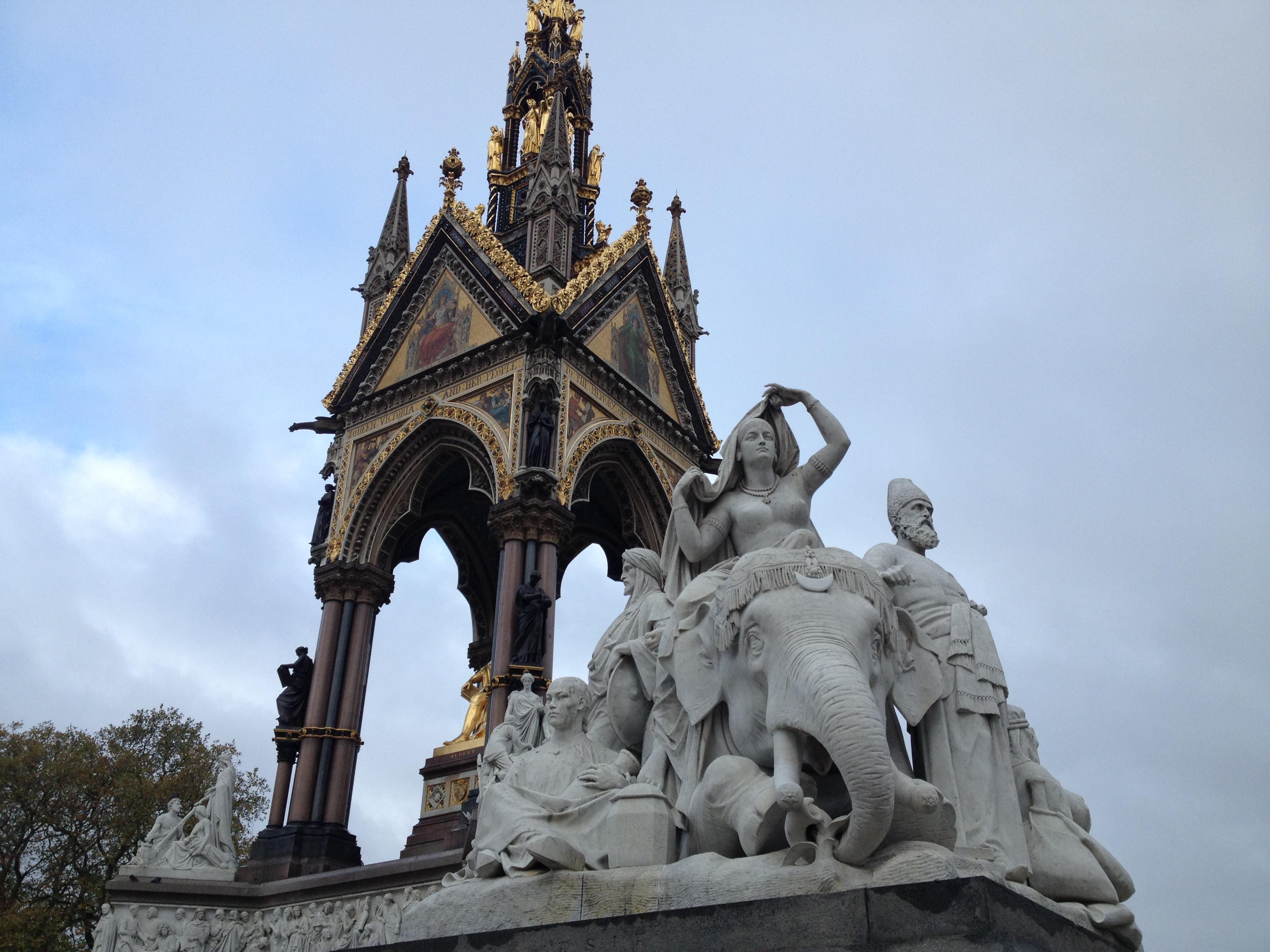 kensington gardens statues