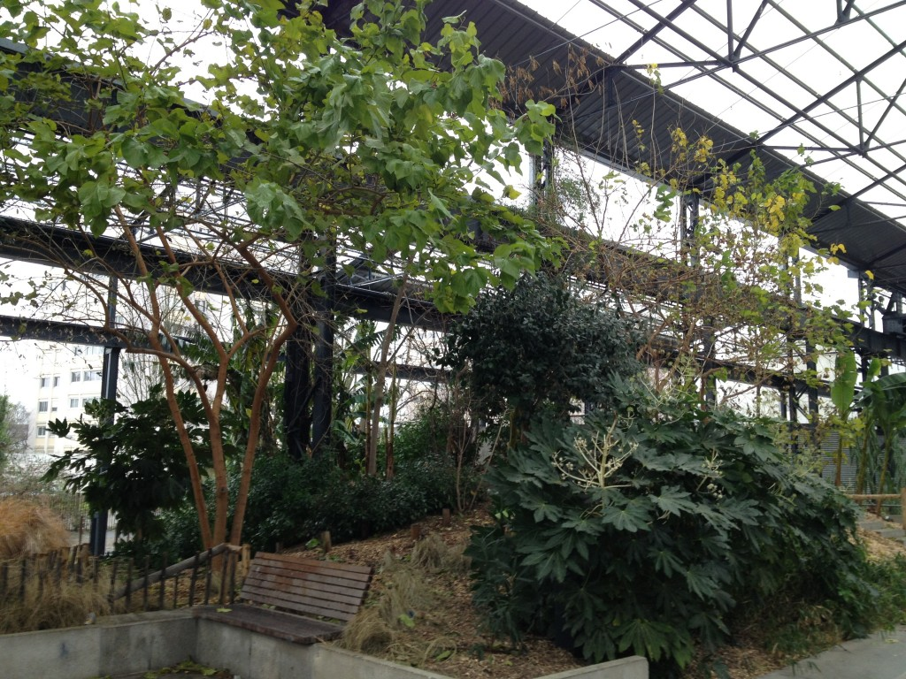 nantes intérieur jardin fonderies